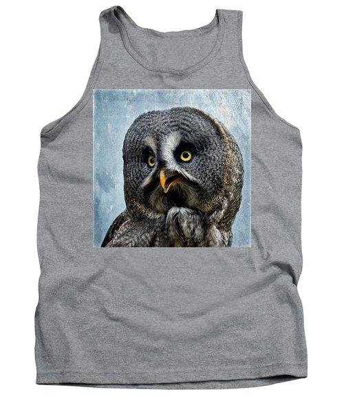 Allocco Della Lapponia - Tawny Owl Of Lapland Tank Top
