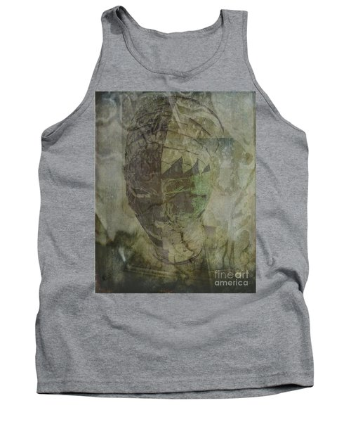 Tank Top featuring the photograph Almost Forgoten by Irma BACKELANT GALLERIES