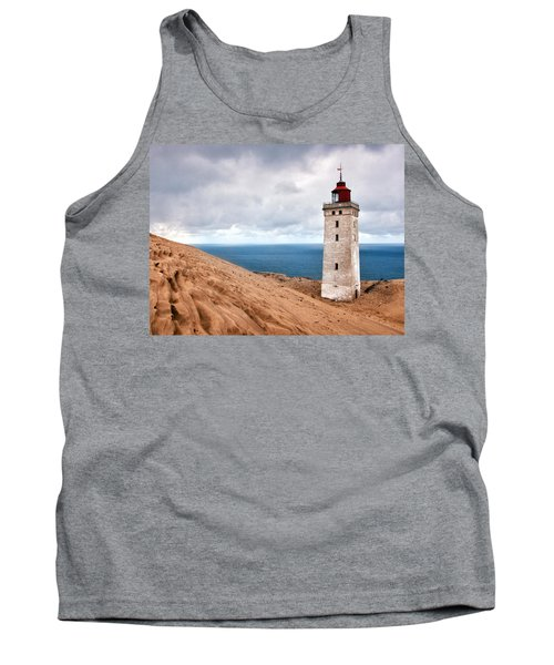 Lighthouse On The Sand Hils Tank Top