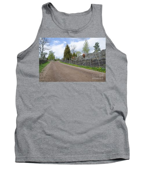 Along An Old Fashioned Road Tank Top