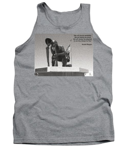 Tank Top featuring the photograph Always Remember by Glenn McCarthy Art and Photography