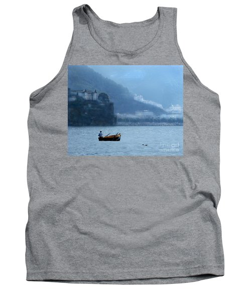 Tank Top featuring the photograph Amalfi To Capri. Italy by Jennie Breeze