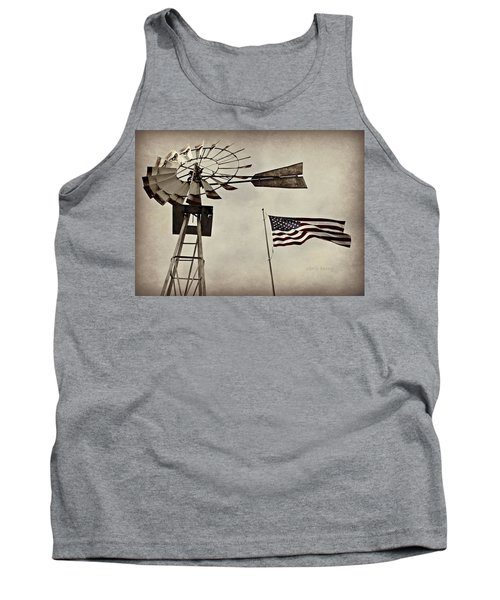 Americana Tank Top by Chris Berry