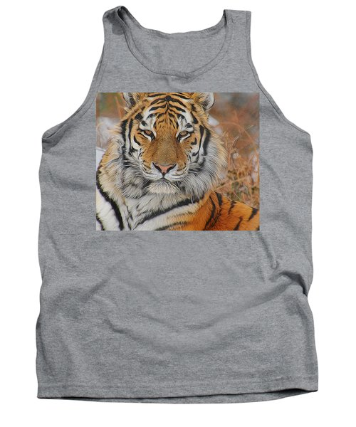 Amur Tiger Magnificence Tank Top
