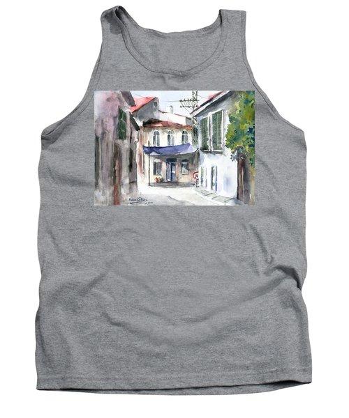 An Authentic Street In Urla - Izmir Tank Top