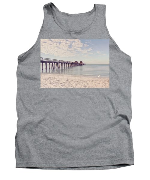 An Early Morning - Naples Pier Tank Top