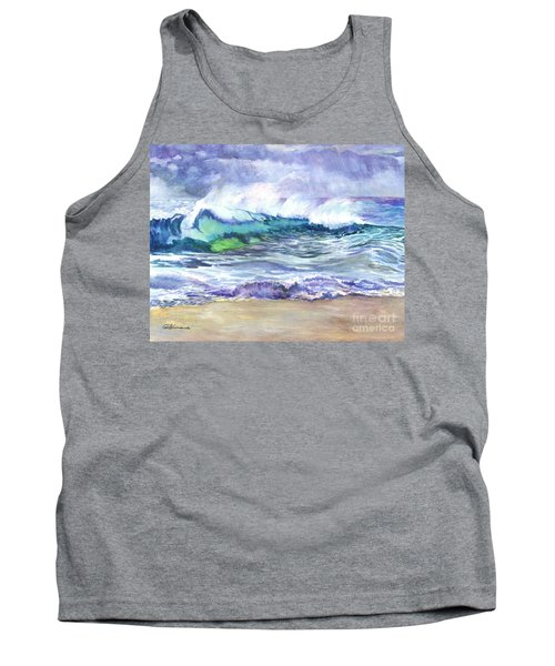 An Ode To The Sea Tank Top by Carol Wisniewski