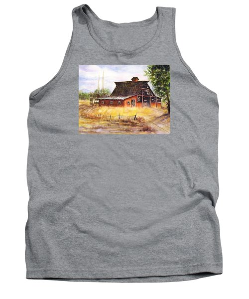 An Old Red Barn Tank Top