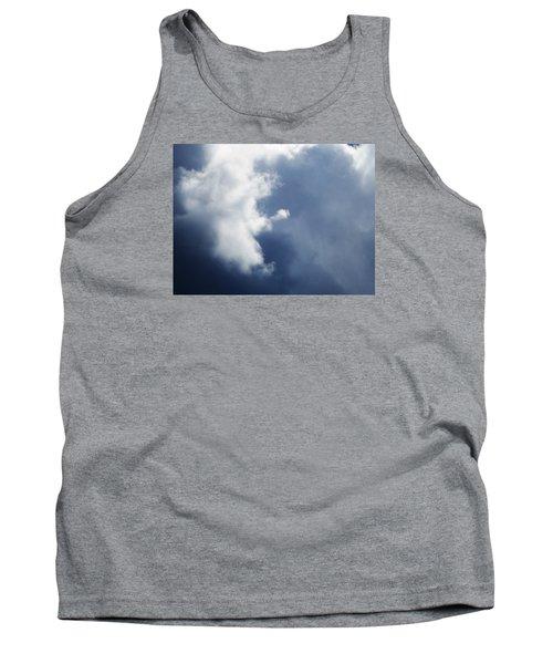 Cloud Angel Kneeling In Prayer Tank Top by Belinda Lee