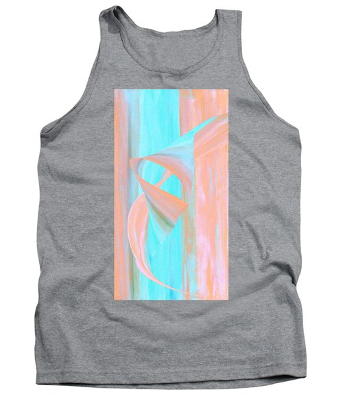 Tank Top featuring the digital art Angelfish by Stephanie Grant