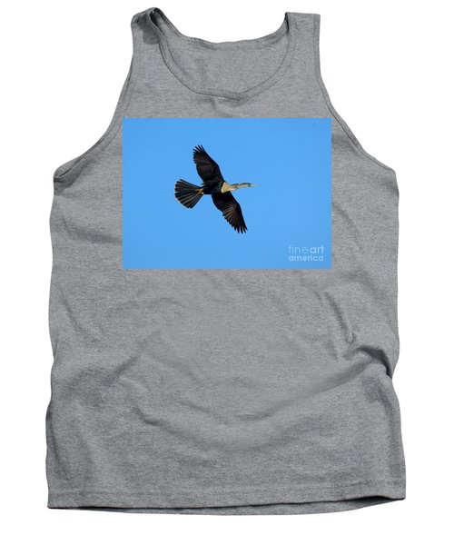 Anhinga Female Flying Tank Top by Anthony Mercieca