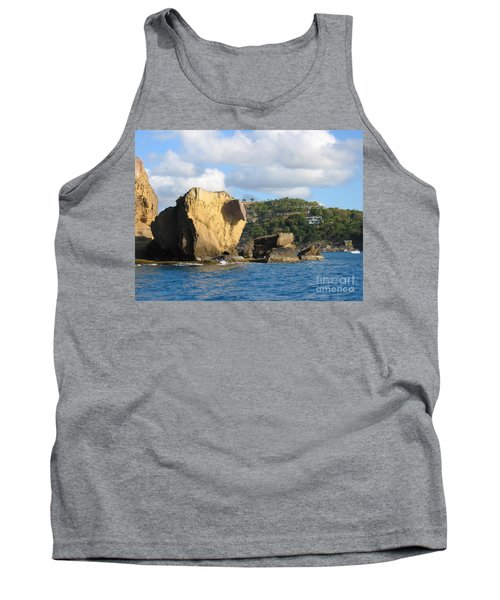 Tank Top featuring the photograph Antigua - Aliens by HEVi FineArt