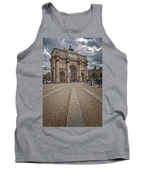 Arc De Triomphe Louvre  Tank Top