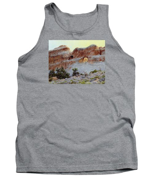 Arches Mulie Tank Top by Bruce Morrison