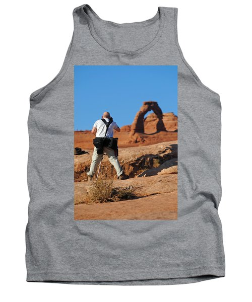 Tank Top featuring the photograph Arches Np 27 by Jeff Brunton