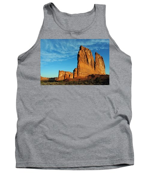 Tank Top featuring the photograph Arches National Park 47 by Jeff Brunton