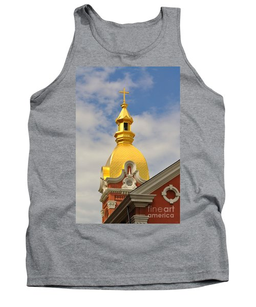 Architecture - Golden Cross Tank Top