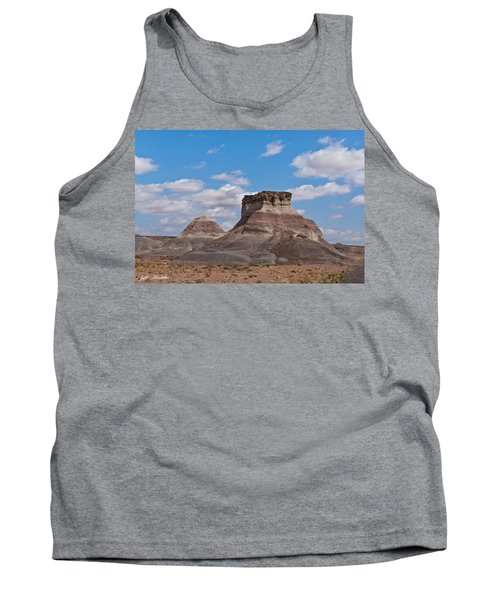 Tank Top featuring the photograph Arizona Desert And Mesa by Jeff Goulden