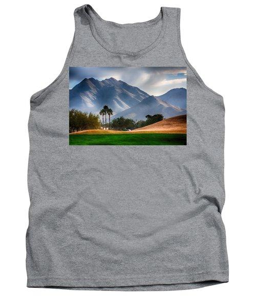 Arizona Sunrise Golfing Tank Top