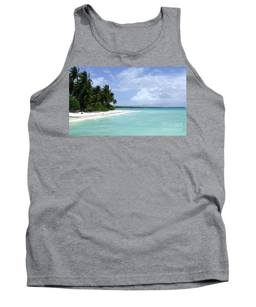 Tank Top featuring the photograph Arno Island by Andrea Anderegg