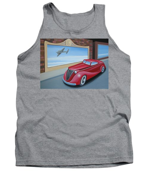 Art Deco Coupe Tank Top
