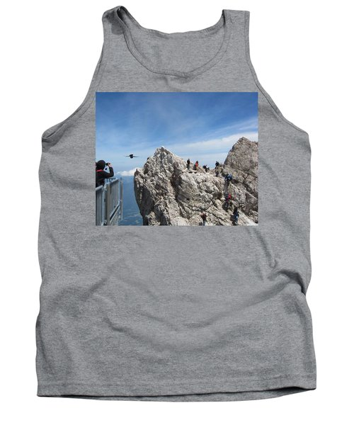 Tank Top featuring the photograph As The Crow Flies 1 by Pema Hou