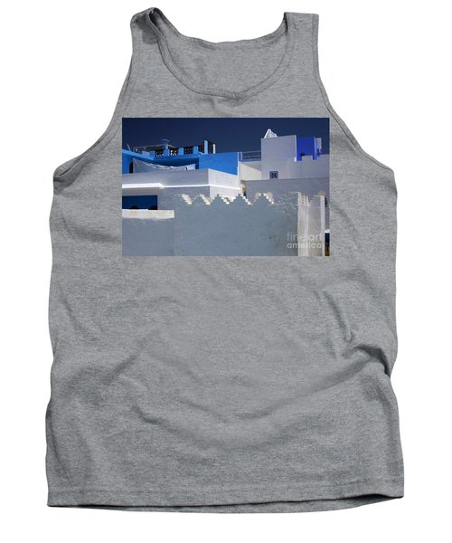 Tank Top featuring the photograph Asilah Meaning Authentic In Arabic Fortified Town On Northwest Tip Of Atlantic Coast Of Morocco by Ralph A  Ledergerber-Photography