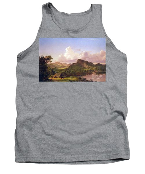 At Home On The Lake By Frederick Edwin Church Tank Top