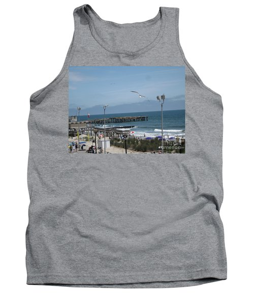 Tank Top featuring the photograph Atlantic City 2009 by HEVi FineArt