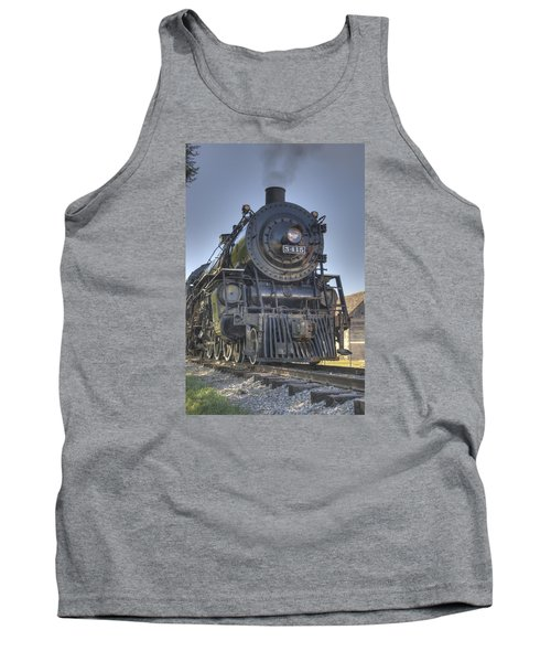 Atsf 3415 Head On Tank Top by Shelly Gunderson