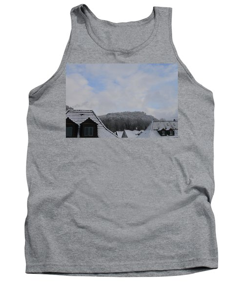 Tank Top featuring the photograph Attic Windows Open To The Sky by Felicia Tica