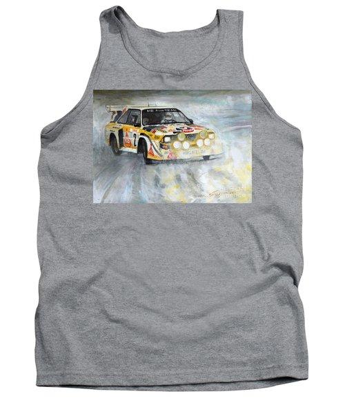1985 Audi Quattro S1 Tank Top