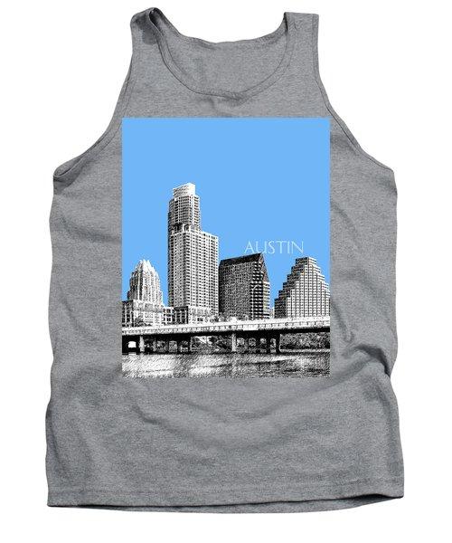 Austin Skyline - Sky Blue Tank Top