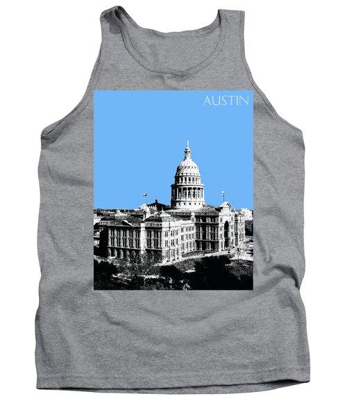 Austin Texas Capital - Sky Blue Tank Top