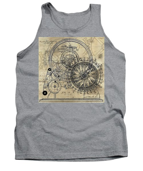 Autowheel II Tank Top by James Christopher Hill