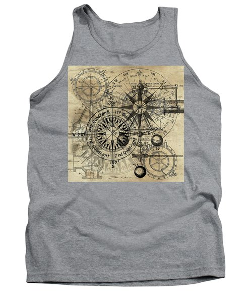 Autowheel IIi Tank Top by James Christopher Hill
