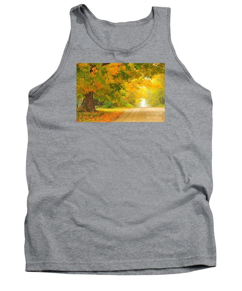 Autumn Cascade Tank Top