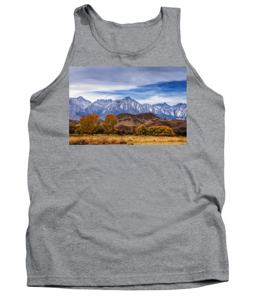 Autumn Colors And Mount Whitney Tank Top