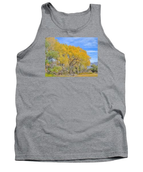 Tank Top featuring the photograph Autumn Colors by Marilyn Diaz