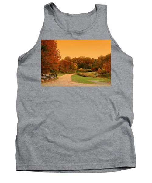 Autumn In The Park - Holmdel Park Tank Top