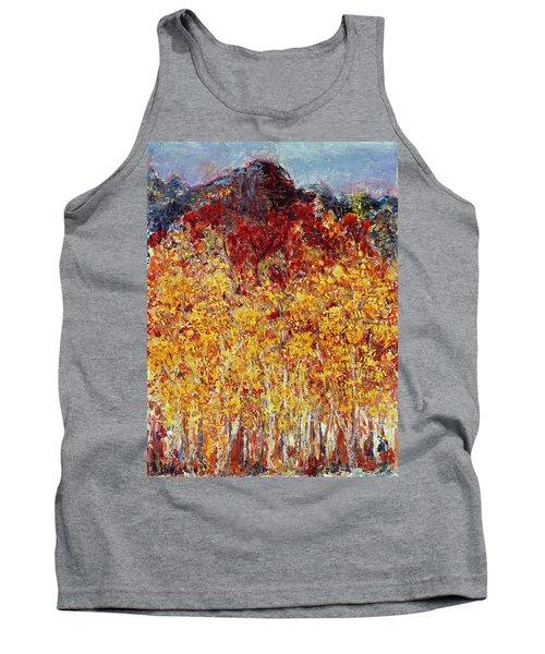 Autumn In The Pioneer Valley Tank Top by Regina Valluzzi