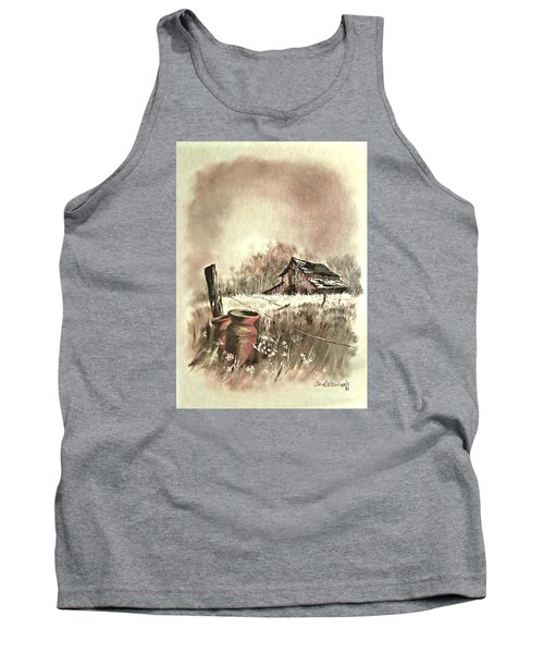 Autumn In View At Mac Gregors Barn Tank Top