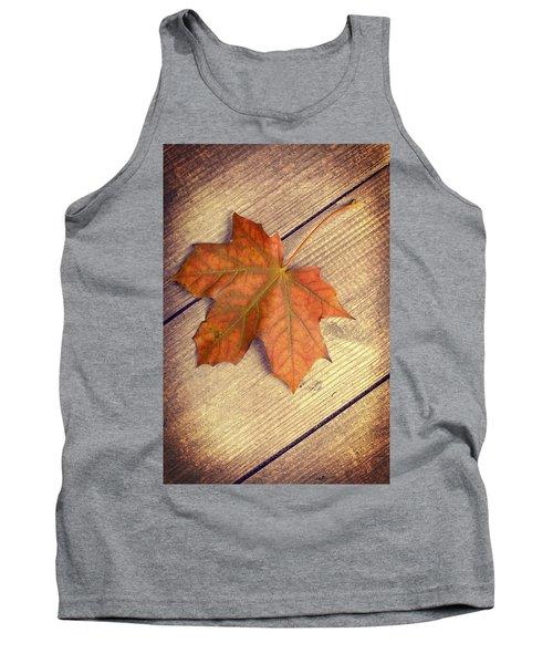 Autumn Leaf Tank Top