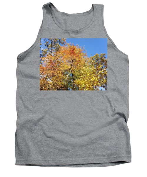 Tank Top featuring the photograph Autumn Limbs by Jason Williamson