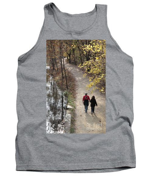 Autumn Walk On The C And O Canal Towpath Tank Top