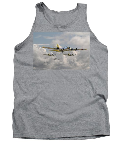 B17 486th Bomb Group Tank Top by Pat Speirs