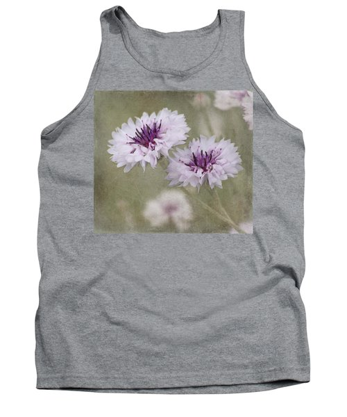 Bachelor Buttons - Flowers Tank Top