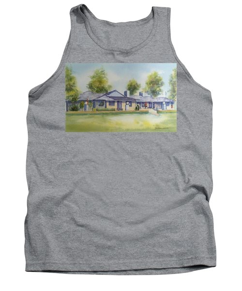 Back Of House Tank Top by Debbie Lewis