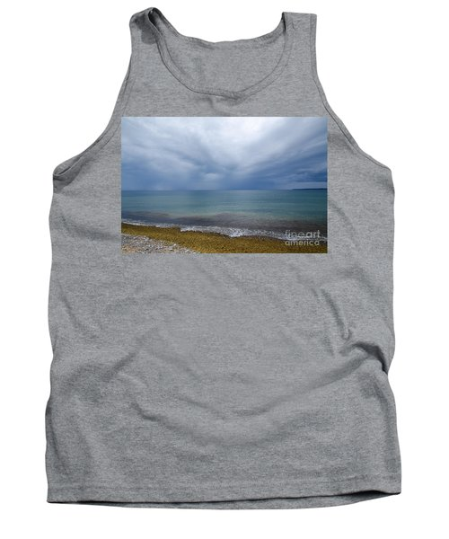 Tank Top featuring the photograph Bad Weather Approaching At The Coast by Kennerth and Birgitta Kullman