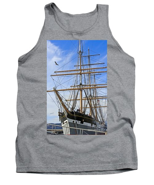 Tank Top featuring the photograph Balclutha by Kate Brown